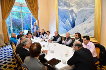 Armenia's President meets heads of world famous companies in sidelines of Chamonix Summit of Minds