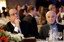 For us, Aznavour will always remain on the stage: François Hollande