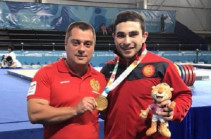 Armenian weightlifter Karen Margaryan becomes Youth Olympic Games' champion