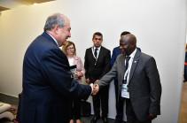 Establishment of Armenia-Gambia diplomatic relations to promote cooperation