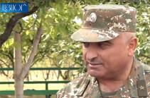Генерал Парванян: Ситуация на линии соприкосновения ВС Карабаха и Азербайджана полностью контролируется (Видео)