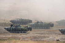 Fire phase of Armenian-Russian joint detachment drills conducted today