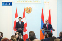 Canadian PM urges to continue Karabakh conflict peaceful settlement process