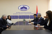 Karabakh FM receives European Parliament MP Jaromir Stetina
