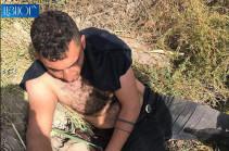 Իրանի քաղաքացին փախել է Հայաստան, որպեսզի խուսափի բանակում ծառայելուց (Լուսանկարներ)