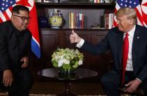 Трамп заявил, что доверяет Ким Чен Ыну