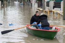 Ֆրանսիայի հարավում մոլեգնող հեղեղումից առնվազն հինգ մարդ է մահացել