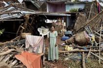 """В Индии 26 человек стали жертвами циклона """"Титли"""""""