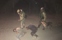 Four men illegally try to cross Armenian-Turkish border in one night