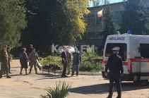 В Керчи десять человек погибли при взрыве газа в техникуме (Видео)