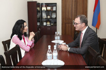 Арпине Ованнисян обсудила с послом Нидерландов последние внутриполитические события