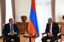 Արմեն Սարգսյանն ընդունել է Հայաստանում ՌԴ դեսպանին