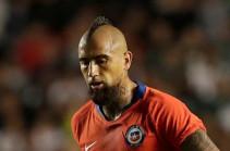 Артуро Видаль оштрафован на € 800 тыс.