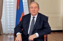Հայաստանի նախագահ Արմեն Սարգսյանը ցավակցել է Կերչում տեղի ունեցած պայթյունի կապակցությամբ
