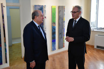 Armenia's President visits German Embassy (photos)