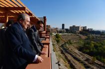 Президент Армен Саркисян сегодня принял Айка Марутяна