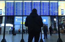 В московских аэропортах задержали или отменили более 25 рейсов