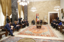 Armenia's acting PM, Lebanese President discuss development of bilateral relations