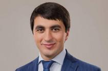 MP Sasun Mikayelyan's son elected mayor of Hrazdan