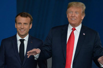Macron highlights INF's significance for European security in phone call with Trump