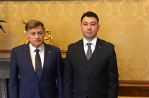 Эдуард Шармазанов встретился с председателем Законодательного собрания Санкт-Петербурга