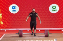 Armenia's weightlifter Simon Martirosyan becomes world champion