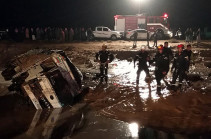 Jordan flash floods: Eleven killed and tourists evacuated from Petra