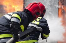 При пожаре на западе Азербайджана погибли пять человек