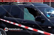 В Ереване обстрелян автомобиль заместителя начальника одного из управлений Минобороны