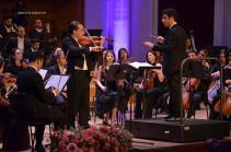 Բորիս Բերեզովսկու, Դենիել Ռոհնի և Հայաստանի պետական սիմֆոնիկ նվագախմբի համատեղ համերգով ամփոփվեց Խաչատրյանի 6-րդ միջազգային փառատոնը