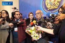 Партия  «Христианско-демократическое возрождение» представила избирательный список в ЦИК Армении