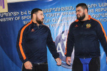 Armenia's acting PM applies to President for granting medals to weightlifters Simon Martirosyan and Gor Minasyan