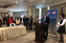 During Global Entrepreneurship Week, U.S. Embassy supports Career and Entrepreneurship Fair in Yerevan