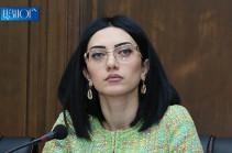 За девять месяцев этого года в Армении возросло количество преступлений – Арпине Ованнисян