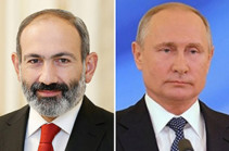 Armenia's acting PM has phone conversation with Russia's president