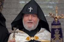 ՀԱԵ-ն չի կարող ողջունել եկեղեցու պառակտմանն ուղղված քայլերը. Գարեգին Բ կաթողիկոսը մեկնաբանել է Ուկրաինայի ուղղափառ եկեղեցու շուրջ իրավիճակը