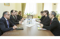 Artak Zeynalyan, ICRC delegation head discuss issues relating Armenian captive in Azerbaijan Karen Ghazaryan