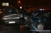 «Կոնտինենտալ» հյուրանոցային համալիրի մոտ մեքենաներ են բախվել, կան զոհեր