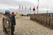 Դավիթ Տոնոյանն այցելել է Քեմփ Մարմալ ռազմաբազայում ծառայությունը կատարող հայ խաղաղապահներին (լուսանկարներ, տեսանյութ)
