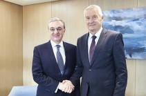 Armenia's acting FM, CoE Secretary General discuss wide range of issues