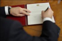 Նախագահը ՀԱՊԿ-ում Հայաստանի մշտական ներկայացուցիչ է նշանակել
