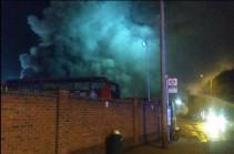 Լոնդոնի արվարձաններից մեկում ավտոբուսներ են  այրվել, հրդեհն ուղեկցվել է պայթյուններով