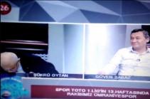 Թուրք հեռուստահաղորդավարն ուղիղ եթերում կաթված է ստացել (Տեսանյութ)