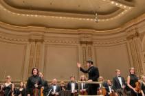 Սերգեյ Սմբատյանի ղեկավարությամբ Մալթայի ֆիլհարմոնիկ նվագախումբը ելույթ է ունեցել Քարնեգի հոլում