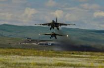 Потеряна связь с боевым самолетом Су-25 Вооруженных сил Армении