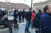 Մեկնարկել է Ռոբերտ Քոչարյանի աջակիցների բողոքի ակցիան (Լուսանկարներ)