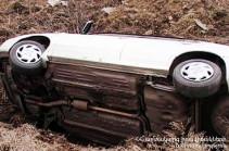 Մեքենան դուրս է եկել ավտոճանապարհի երթևեկելի մասից և կողաշրջվել ձորակը. կա տուժած