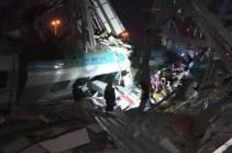 Թուրքիայում արագընթաց գնացք է վթարվել. կա 4 զոհ