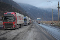 Stepantsminda-Lars road closed for all kinds of vehicles