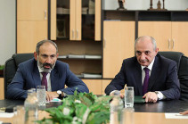 Armenia's acting PM, Karabakh President discuss domestic, foreign policy issues